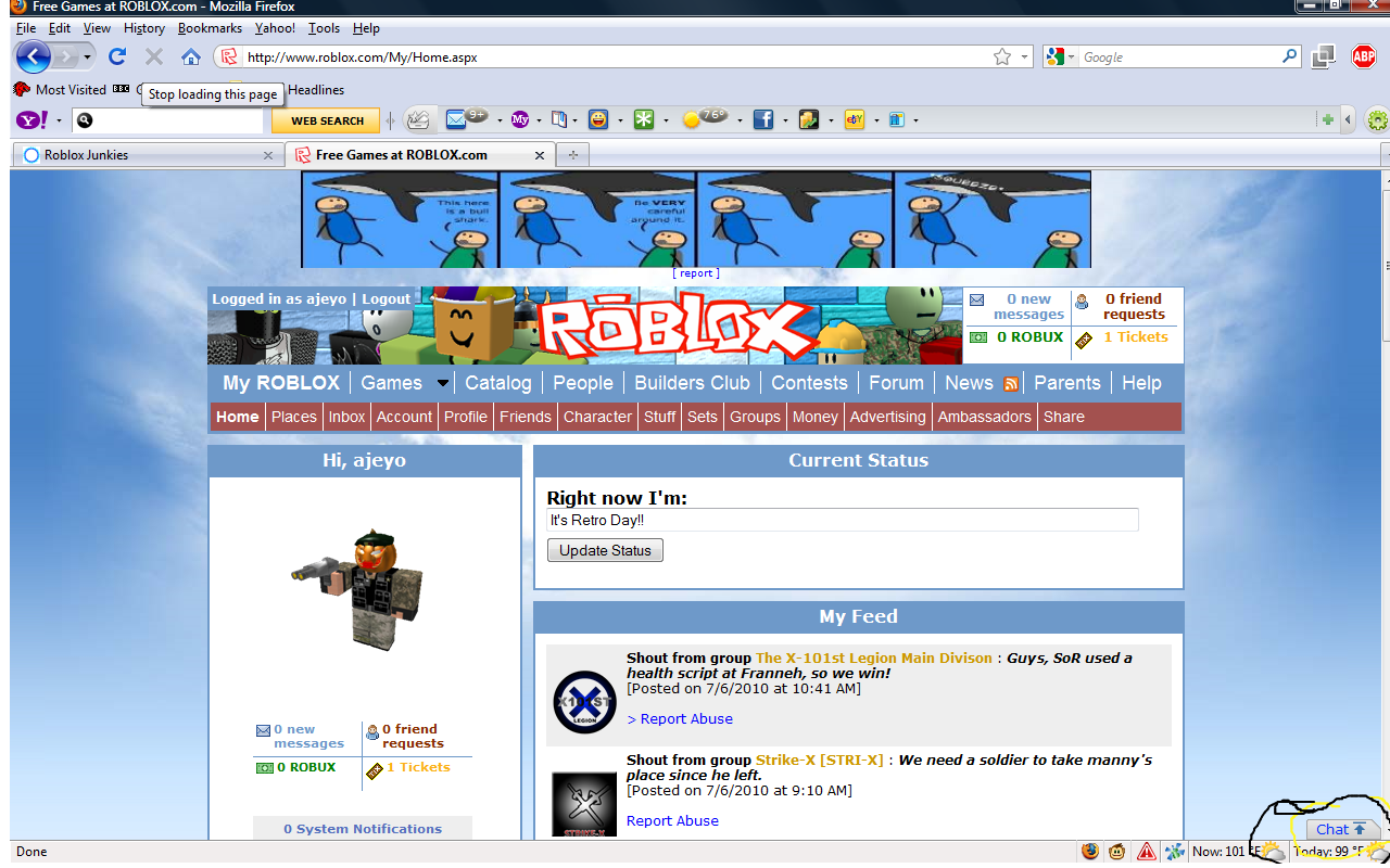 New Chat Roblox Junkies